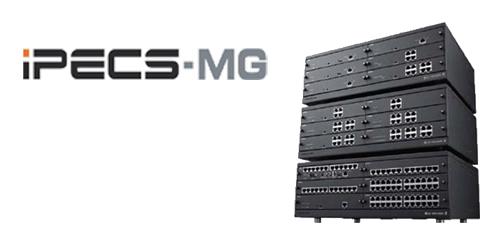 Centralita LG-Ericsson MG-100 (media capacidad) híbrida, modular y muy flexible